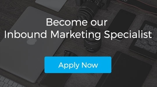 Apply for Inbound Marketing Specialist